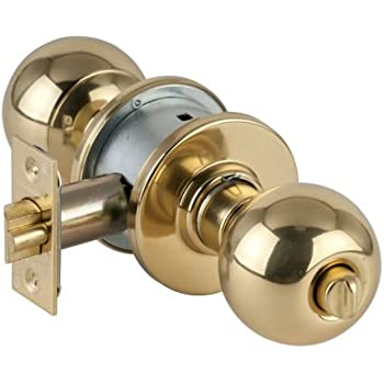 Schlage A53PD-ORB Orbit Keyed Entrance Door Knob Set, Antique Brass ...
