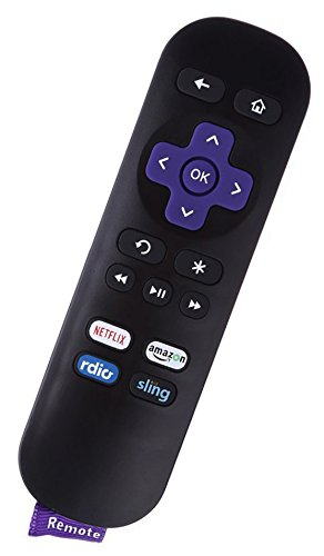 Smartby roku sling 1 New IR Remote for Roku 1 2 3 4 HD LT XS XD Roku Express Roku Premiere, DO NOT Support for Roku Stick or Roku TV