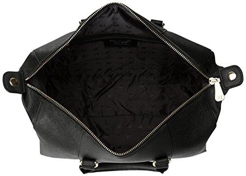 Boston Nero Bag Eco Jeans Armani Saffiano tnP0v0q