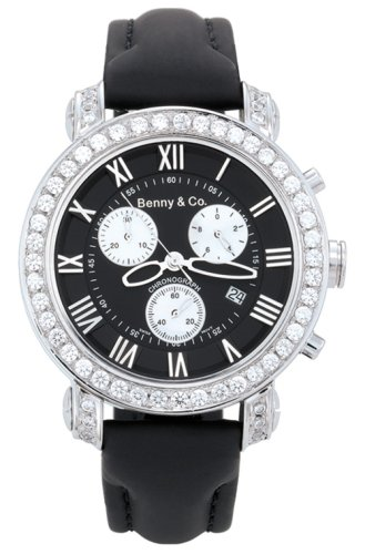Benny & Co. Diamond Watch Ice 3.0 Black