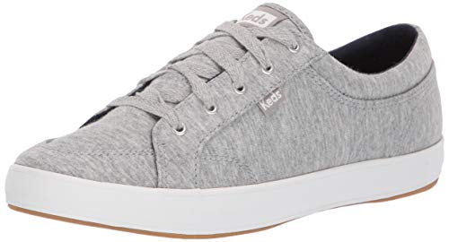 (Keds Women's Center Jersey Sneaker, Light Grey, 9)