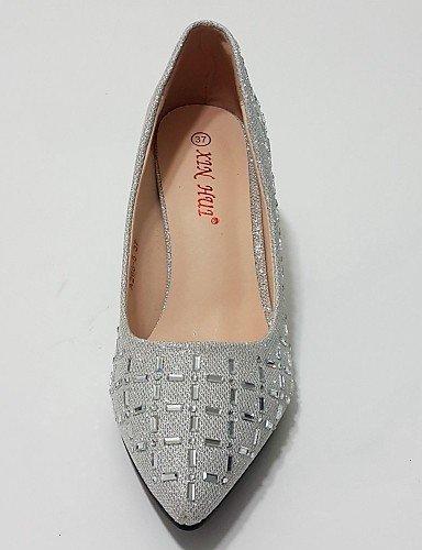 Or Bout Pointu Shangyi Golden Soirée Talons Evénement Mariage Habillé Talon Paillette Aiguille amp; Femme Argent Chaussures qw78q4RA