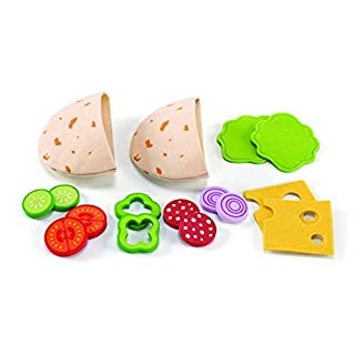 Award Winning Hape Pita Pocket Play Kitchen Play Set