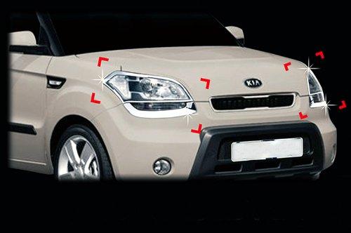 Tuning Zubeh/ör f/ür Audi Q5 Heck Wischerarm Chrom Blenden Kappen