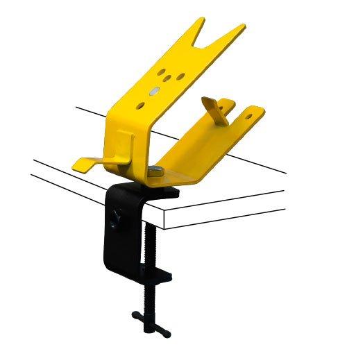Strong Hand, Power Grinder Rests, C-Clamp base model w/ vertical mounting plate, (Industrial Vertical Grinder)