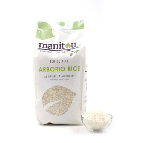Manitou Arborio Rice - 18 oz (Pack of 6) by Manitou Trading Company