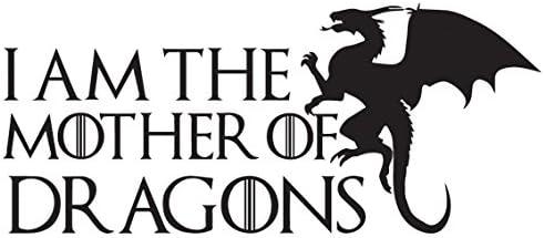 I Am The Mother Of Dragons Game Of Thrones Aufkleber Laptop Auto Kühlschrank Art Wand Aufkleber Küche Haushalt