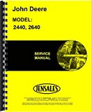John Deere 2440 Tractor Service Manual (Sn 341,000 and Up) (Includes 2 Volumes)