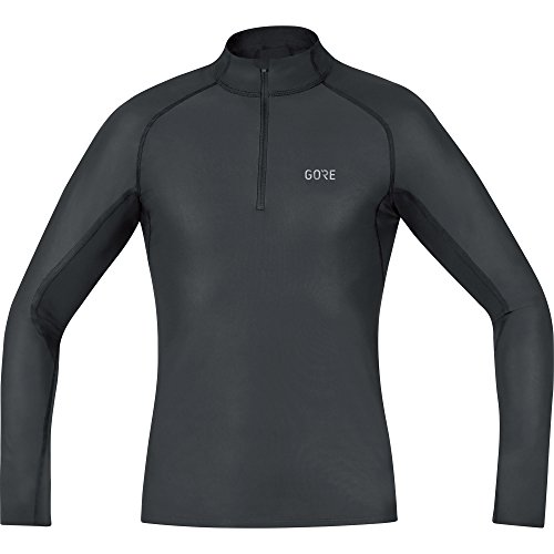 GORE WEAR Winddichtes Herren Stehkragen-Unterzieh-Shirt, Gore M Windstopper Base Layer Thermo Turtleneck, 100325