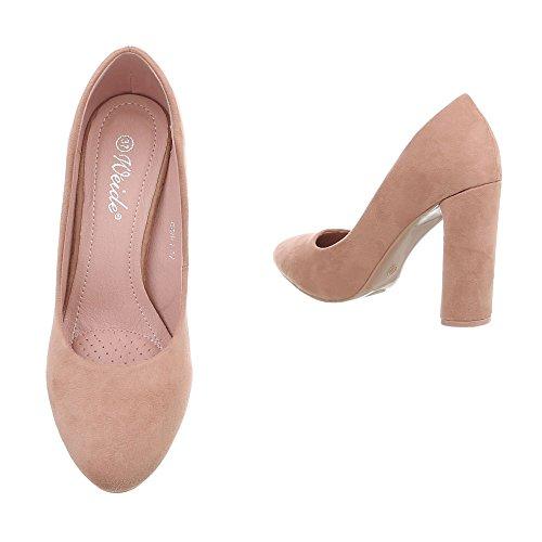 de Zapatos Zapatos Mini Tacon Tac Mujer para qEWntP