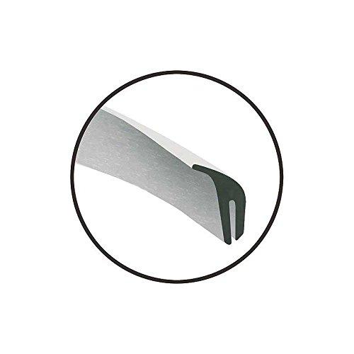 MACs Auto Parts 47-15821 Upper Radiator Shroud Seal - Rubber -