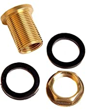 Schroefverbinding voor regenton met 1/2 inch aansluiting voor tapkraan (vat 01)