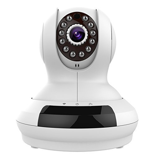UPC 601393714538, Edeep Wifi Wireless Ip Camera HD 720P Security Surveillance Cameras Video Monitoring Pan Tilt with Two Way Audio and Night Vision