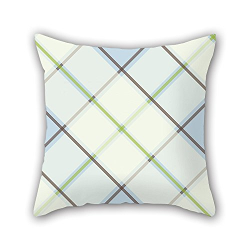 PILLO The Tartan Pillowcase Of ,20 X 20 Inches / 50 By 50 Cm Decoration,gift For Lounge,bench,couples,indoor,kids Girls,outdoor (double
