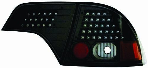 4 Piece Black Tail - IPCW LEDT-745CB Bermuda Black LED Tail Lamp without Red Cap - 4 Piece - Pair