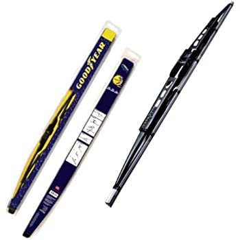 Goodyear GY-WB728-18 Black Premium Rubber Graphite Coated Wiper Blade, 18