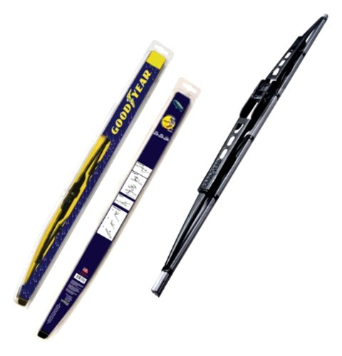 Pack of 1 Goodyear GY-WB728-18 Black Premium Rubber Graphite Coated Wiper Blade 18 Pack of 1 18