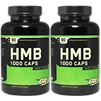 Optimum Nutrition - HMB 1000 mg 90カプセル 2本セット [海外直送品]