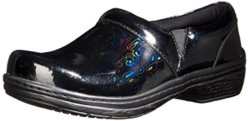 Hologram USA Patent Black Mission Mule Women's Klogs 4R0q70