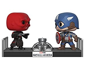 Funko Pop Movie Moments: Marvel- Captain America and Red Skull Collectible Figure, Multicolor