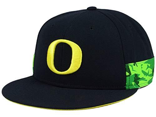NCAA Oregon Ducks Snapback Hat Cap One Size Fits Most - Team Colors