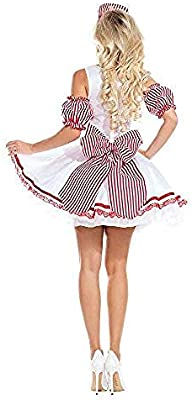 lkw-love Disfraz de Oktoberfest para Mujer Chica de Cerveza ...