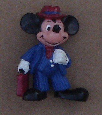 Mickey Mouse PVC Figure Approx. 2