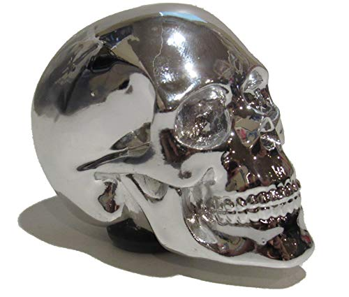 (Kool Collectibles Chrome Skull Shift Knob Shifter Rat Rod Lever)