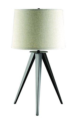 Coaster Company of America 901644 Table Lamp - Dimensions: 17W x 17D x 28.75H in. Base made out of metal Black finish - lamps, bedroom-decor, bedroom - 41Wc4HWjoCL -