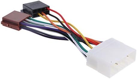 大宇/Ssangyongのための新しい車の自動ステレオラジオDVDの配線用ハーネスケーブルのアダプター
