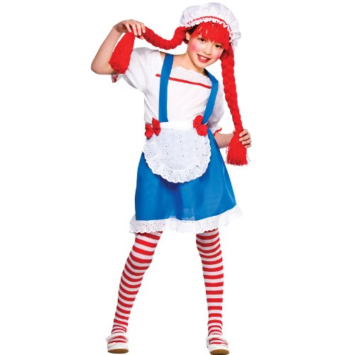 Girls (Rag Doll Halloween Costume Uk)