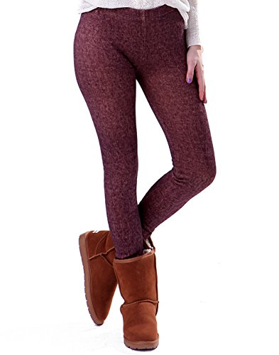 insulated cotton leggings - 1