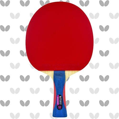 バタフライNakama s8すべて木製blade-flextra 1.9Rubbersテーブルテニスラケット