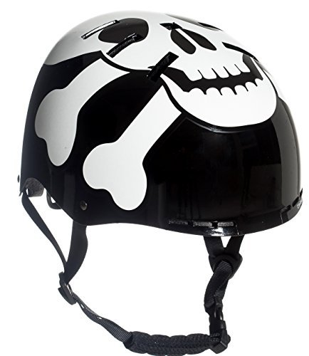Sport DirectTM The SKULLTM BMX Helmet Balck 55-58cm US CPSC 16 CFR 1203 Safety Standards Tested