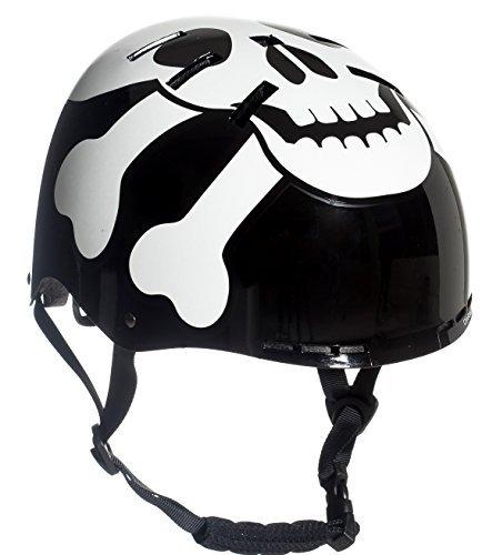Sport DirectTM The SKULLTM BMX Helmet Balck 55-58cm US CPSC 16 CFR 1203 Safety Standards Tested Review