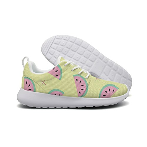 Men's Sweet Watermelon Life Lightweight Breathable Casual Sports Shoes Fashion Sneakers Walking Shoes by HDIAOnaAO