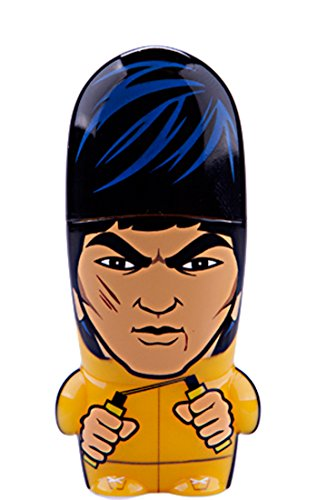 8GB Bruce Lee Legends of MIMOBOT Designer USB Flash Drive with bonus preloaded Mimory content, Limited Edition by Mimoco