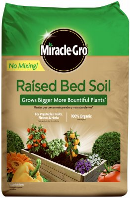 Scotts Growing Media 73959430 Raised Bed Soil (Soil Bed Raised Garden)