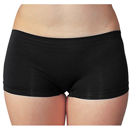 KMystic Seamless Hot Shorts Boy Short One Size (Black)