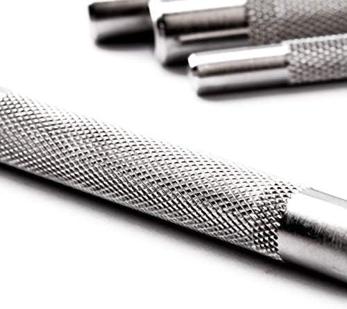 Leder Locher Werkzeug Sch?rfer und Langlebiger Monland 4Mm 1//2//4//6 Prong DIY Diamond N?Hen MEI?EL Set Leder Handwerk Kits