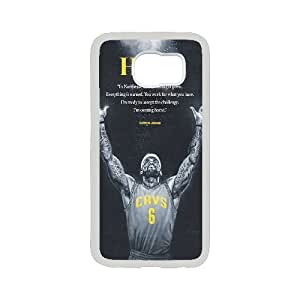 High Quality Phone Case For Samsung Galaxy S6 -Hard Plastic Cover NBA Cleveland Cavaliers LeBron James -LiuWeiTing Store Case 4