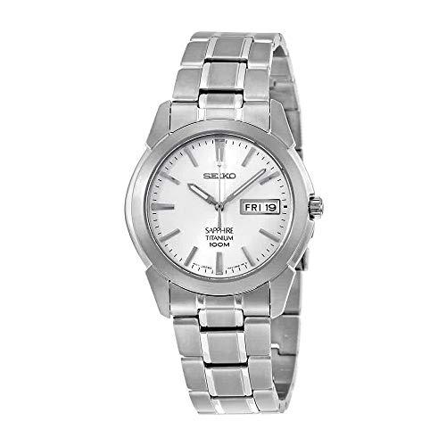 Seiko Men's Analogue Quartz Watch with Titanium Bracelet – SGG727P1 ()
