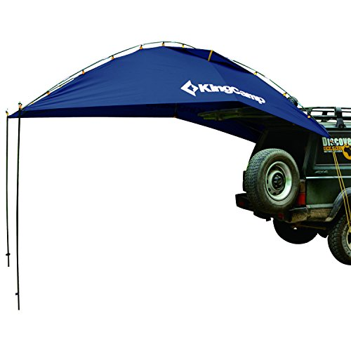 KingCamp Awning Sun Shelter Auto Canopy Camper Trailer Tent Roof Top for Beach, SUV, MPV, Hatchback,...