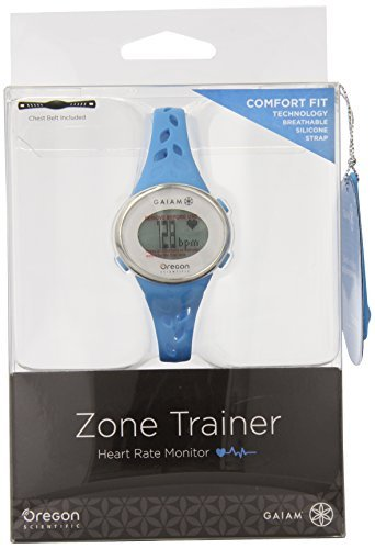 Oregon Scientific SE331 Gaiam Zone Trainer 3.0 Watch, Blue by Oregon Scientific