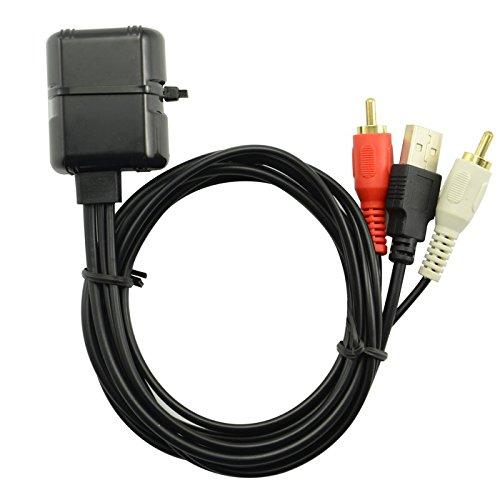Goliton® Bluetooth sans fil RCA USB Dongle Transmetteur Adaptateur pour Voiture Bateau RV Stéréo dispositif CAR.01.AUD.008.XXB