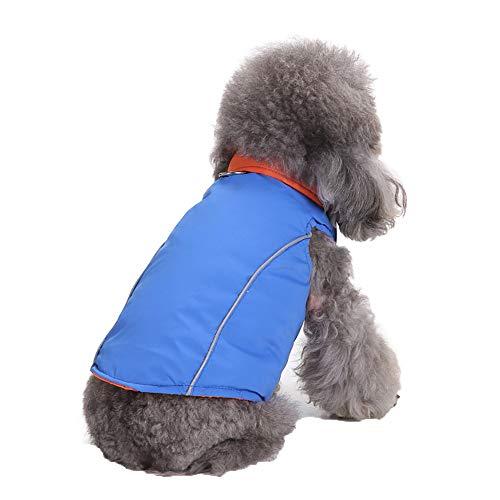 Fitfulvan Pets - Ropa cálida de Invierno para Perros, Gatos, Cachorros Chamarra para Disfraz
