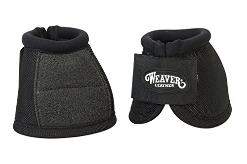 (Weaver Leather No-Turn Bell Boots with Kevlar Reinforcement)