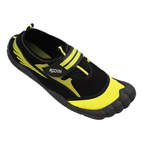 Rockin Footwear Mens Aqua Foot Water Shoes
