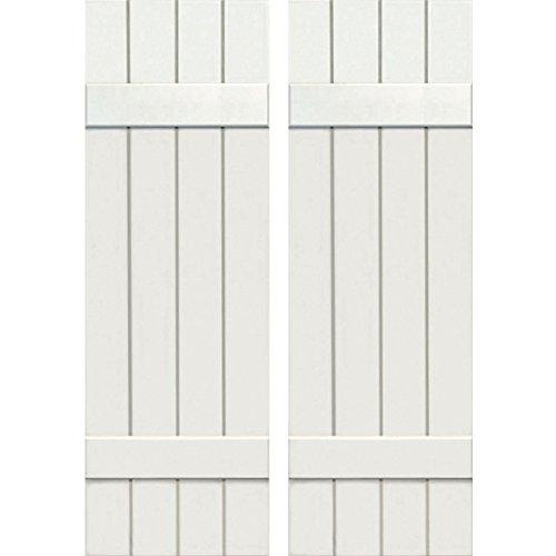 Ekena Millwork CWB15X053WHC Exterior Four Board