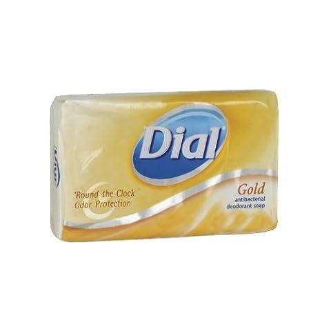 Dial 00910CT Gold Bar Soap, Fresh Bar, 3.5oz Box (Case of 72) (Dial Bar Gold)